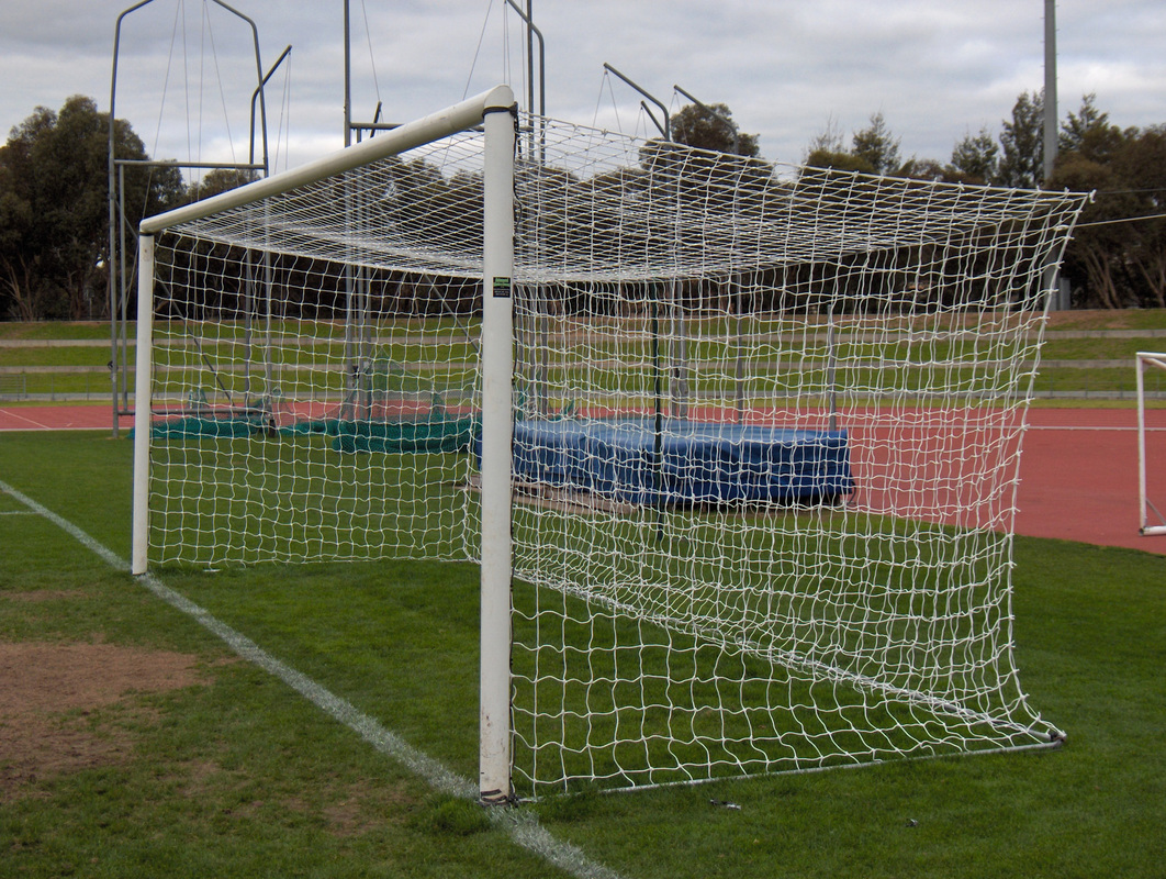 soccer nets and posts